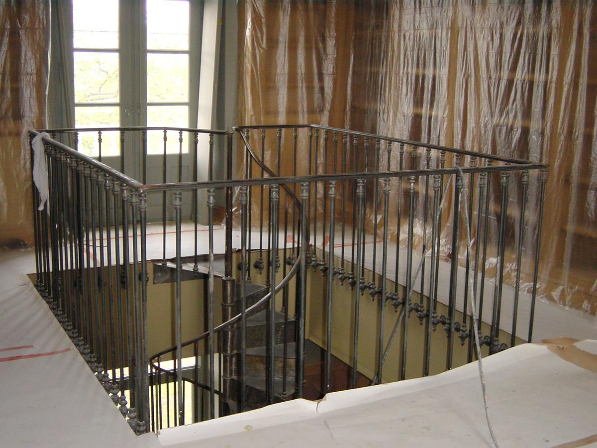 Metallerie - Escalier et garde corps 1