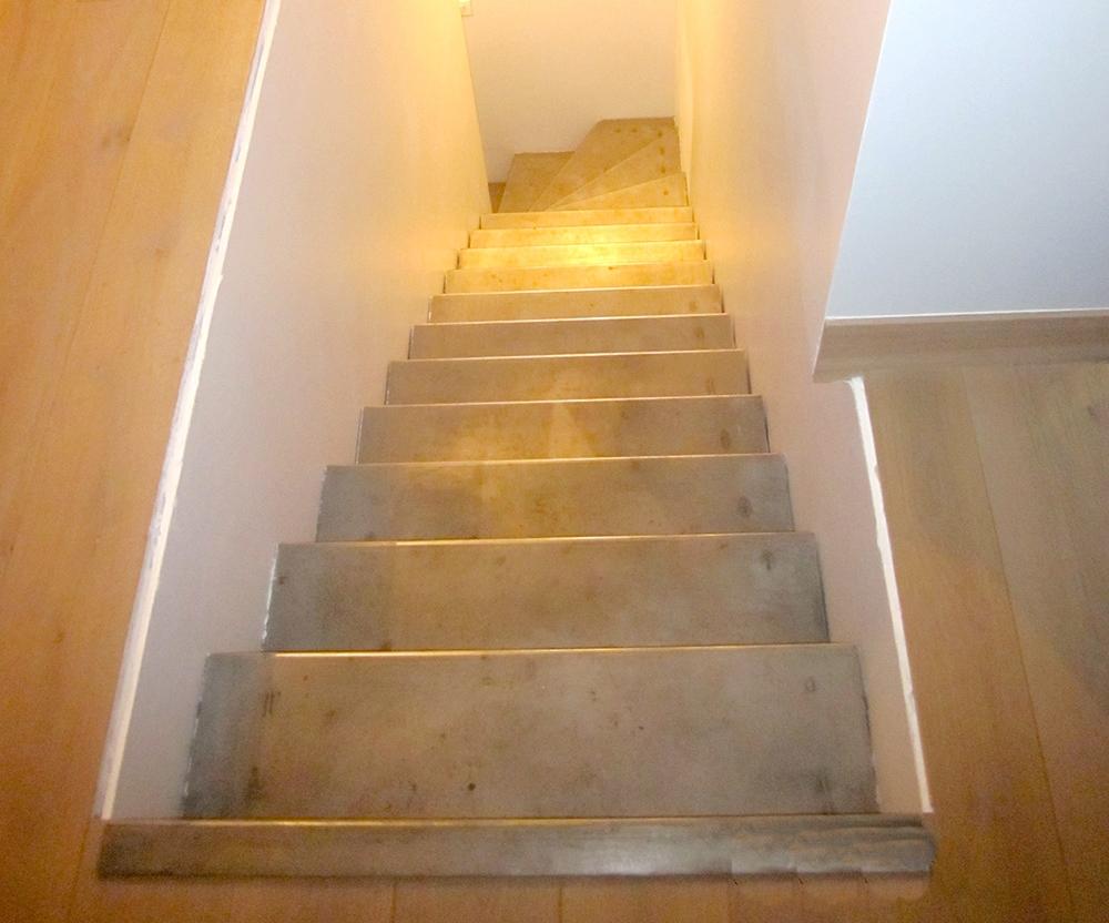 Metallerie - Escalier en acier Brut 1