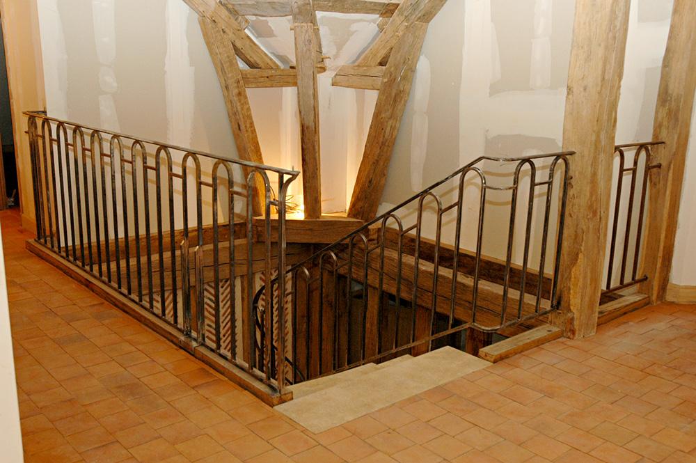 Metallerie - Garde Corps et rampe sur escalier 1