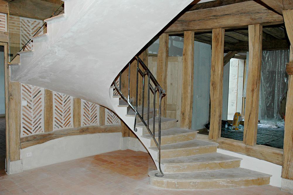 Metallerie - Garde Corps et rampe sur escalier 3