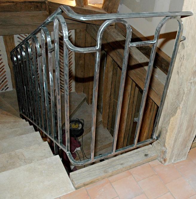 Metallerie - Garde Corps et rampe sur escalier 4