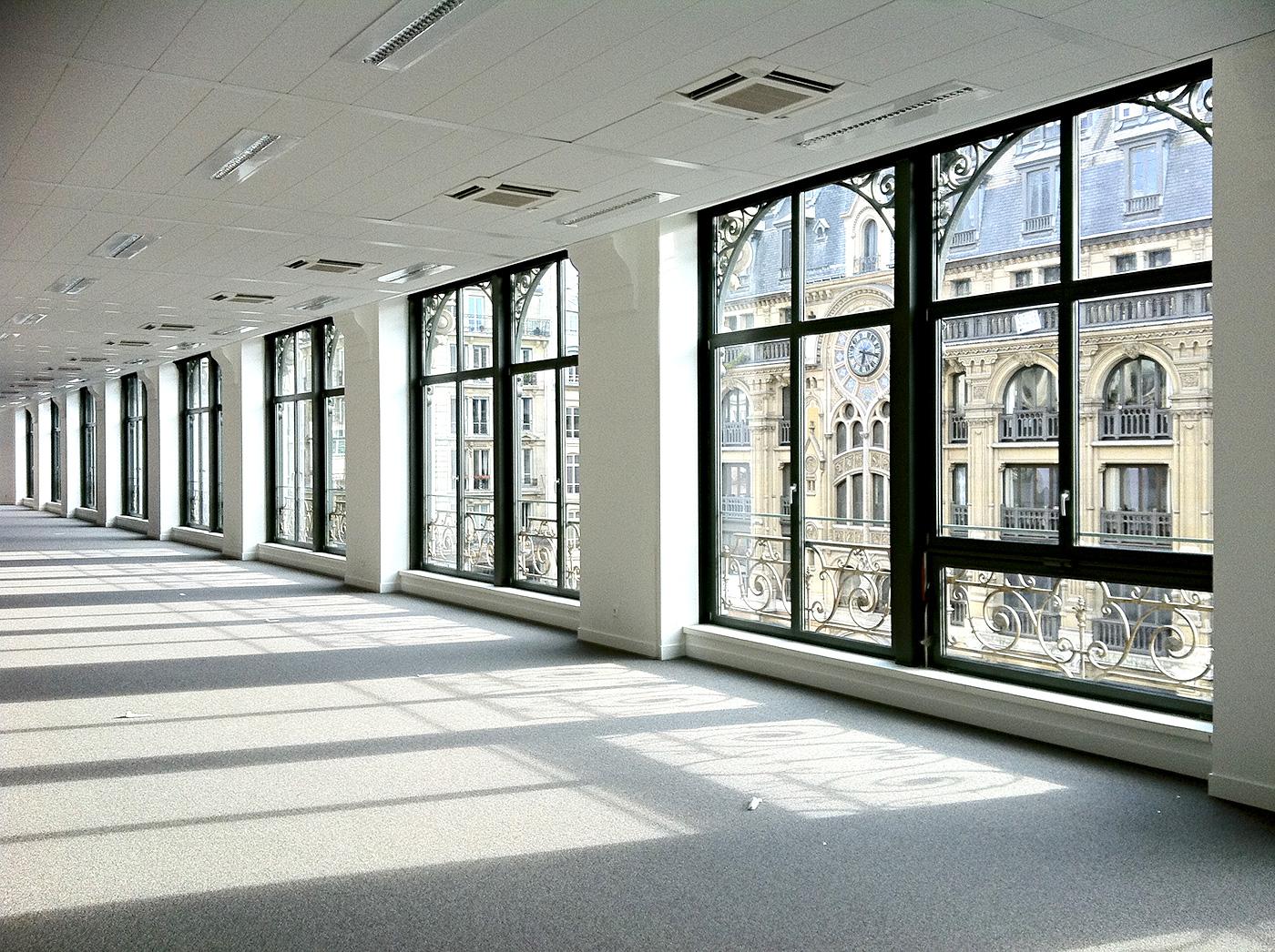 Menuiseries Exterieures Acier - Rehabilitation de trois niveaux de bureaux dans un batiment ancien