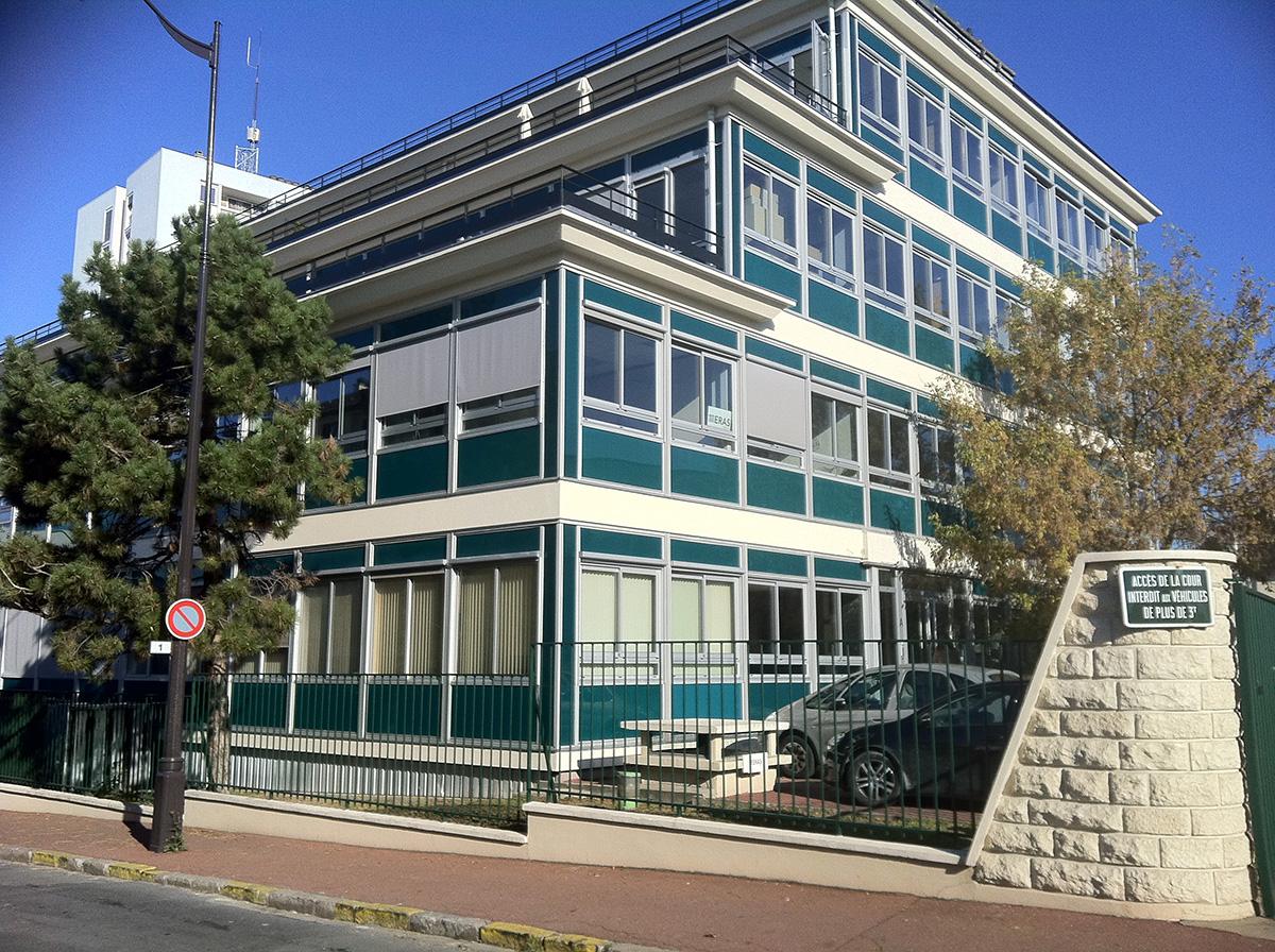 Menuiserie Exterieure Aluminium - Façades de bureaux RUEIL MALMAISON 2