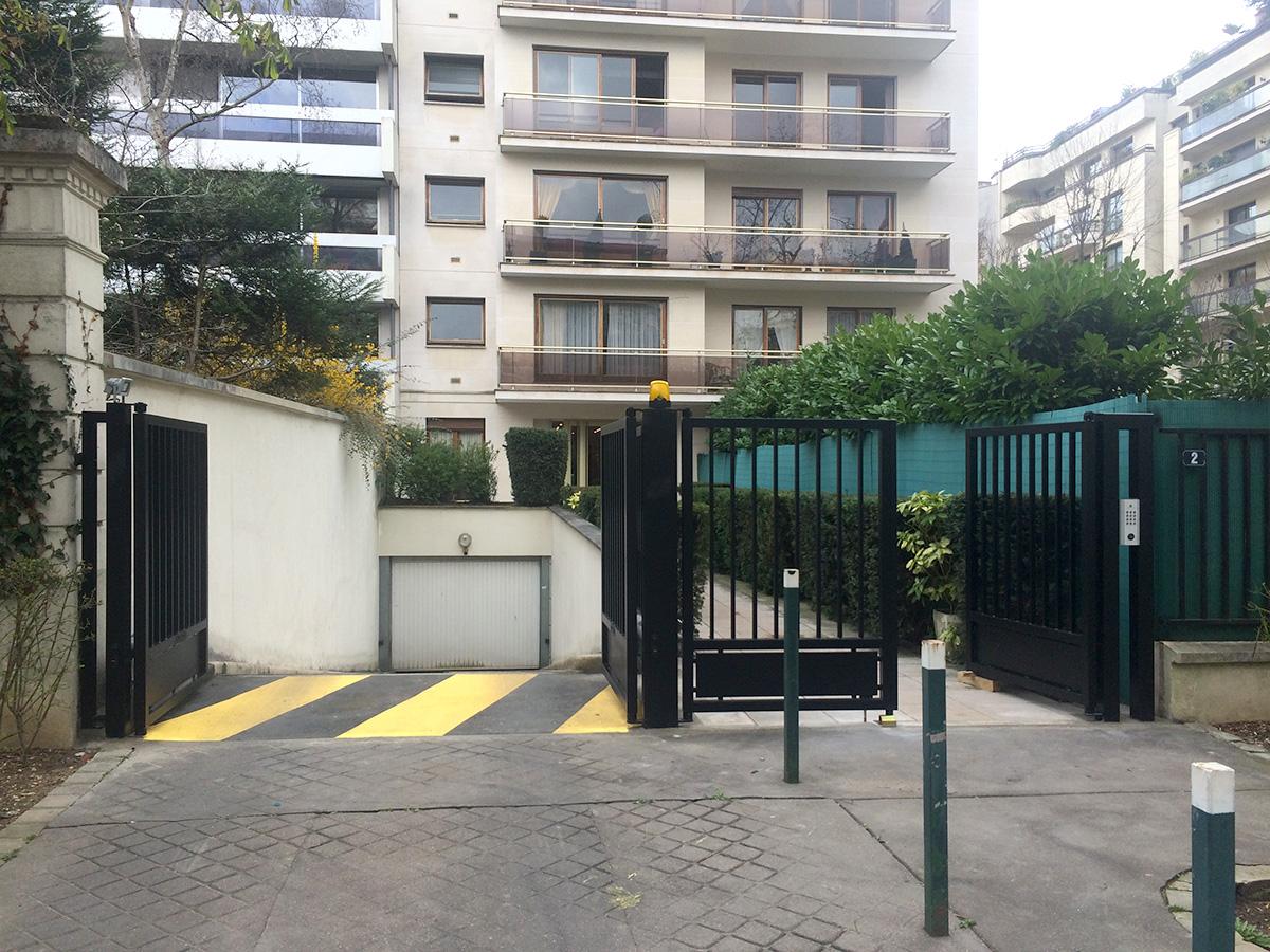 Motorisation et Contrôle d'accès - Portail collectif motorisé - PORTAIL SAUSSAYE 2