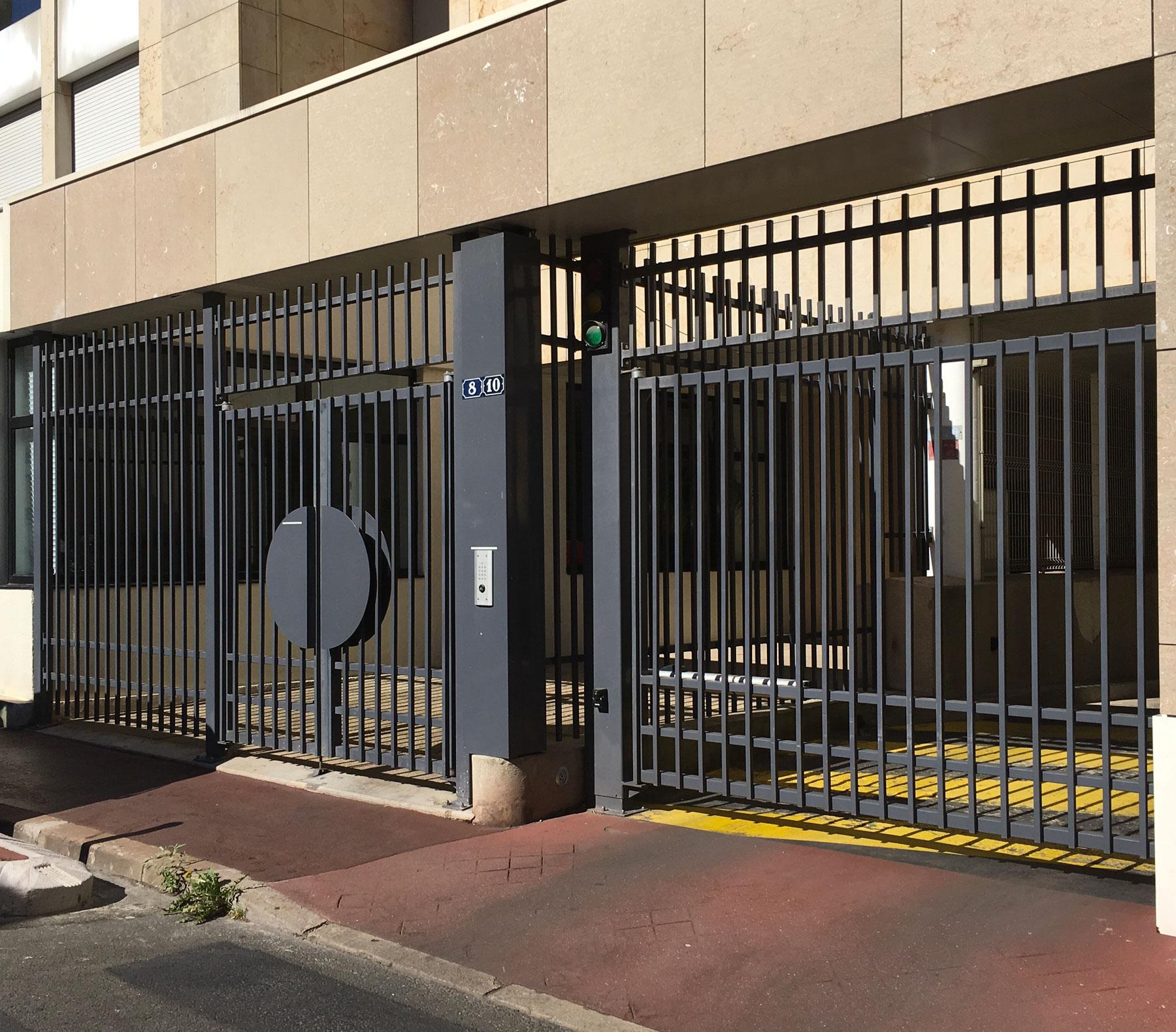 Portail sécurité Montrouge